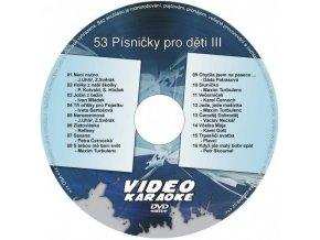 DVD 53 Pesničky pre deti III