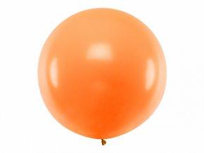 Guľatý latexový Jumbo balón 1m oranžový
