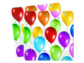 Servítky Balónová oslava 20 ks