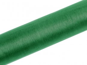 Organza smaragdová zelená 16cm x 9m