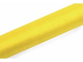Organza žltá 16cm x 9m