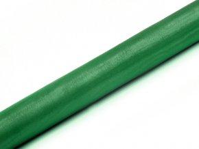 Organza smaragdová zelená 36cm x 9m