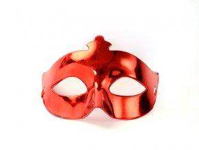 Party maska červená