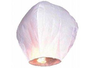 Lietajúci lampión priania biele