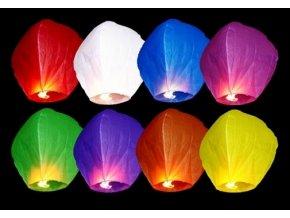 Lietajúci lampión priania mix 10 kusov
