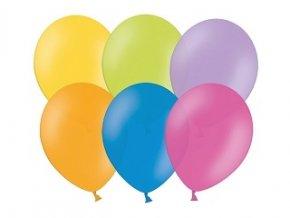 Nafukovacie balóny obyčajné mix 100ks