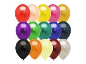Nafukovacie balóny metalíza mix 50ks