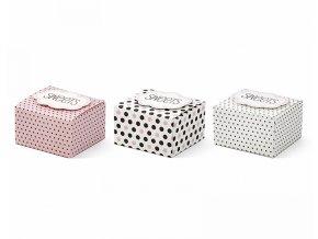 Krabičky Sweets 6 ks