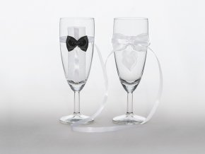 Svadobné poháre Nevesta a ženích