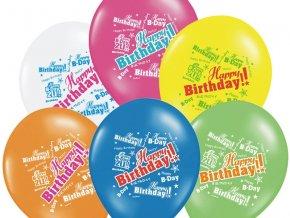 Narodeninový balónik Happy Birthday 30cm