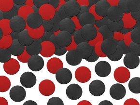 Konfety čiernočervené bodky 5 g