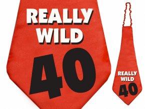 "Kravata 40 ""Really wild"""