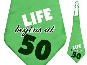 Kravata Život začína v 50tke