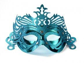 Party maska s ornamentami