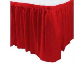 Banketova sukna cervena