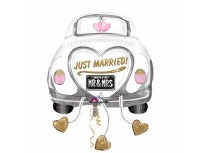 Fóliový balón Just married