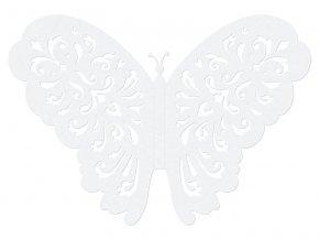 Papierove dekoracie motyle
