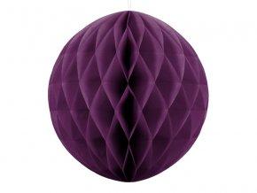 papierova dekoracia tmava fialova