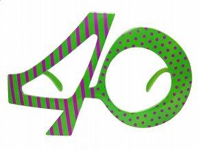 Okuliare 40