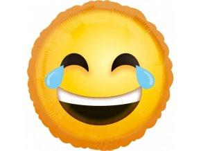 Foliovy balon emotikon smajlik