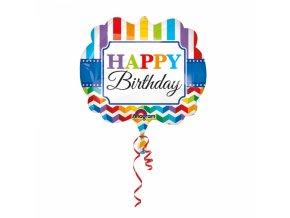 Balon foliovy narodeninovy