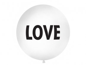 Metrovy balon 1m love