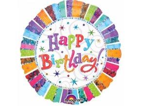 Foliovy balon stastne narodeniny