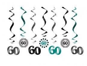 Visiace dekoracie na 60