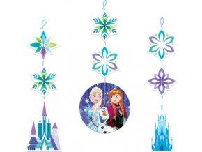 Frozen visiace dekoracie