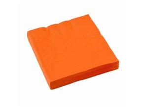 Servítky oranžové 20 ks