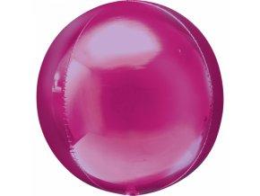Foliovy balon Gula ruzova
