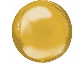 Foliovy balon gula zlata