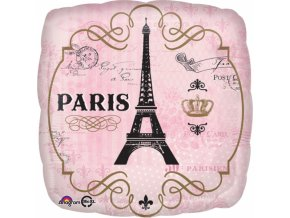 Foliovy balon Den v Parizi
