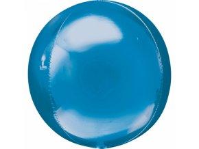Foliovy balon modra gula