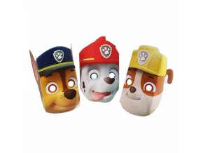 masky na tvar Paw Patrol