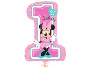 Foliovy balon 1 minnie