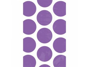 Vrecuska bodkovane fialova