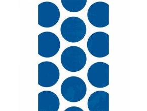 Vrecuska bodkovane modre