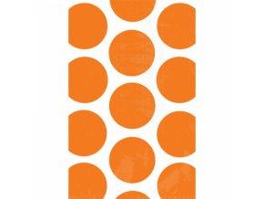 Vrecuska bodkovane oranzove
