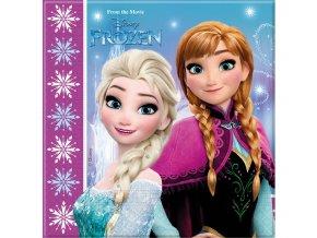 Servítky v štýle Frozen 20 ks