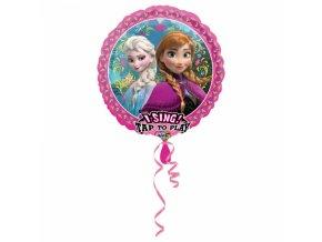 Fóliový balón Frozen spievajúci
