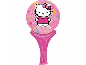 Fóliový balón Hello Kitty 15 cm x 30 cm