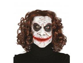 Maska Joker s vlasmi