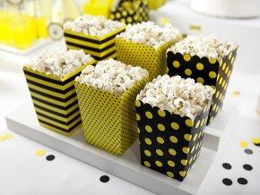 Dekoratívne boxy na popcorn
