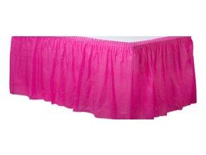 Banketová sukňa magenta 426 x 73 cm