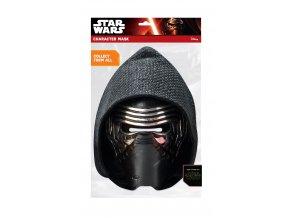 Papierová maska Kylo Ren (Star Wars)