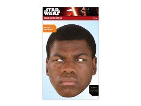 Papierová maska Finn (Star Wars)