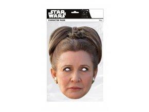 Papierová maska Princezná Leia (Star Wars)