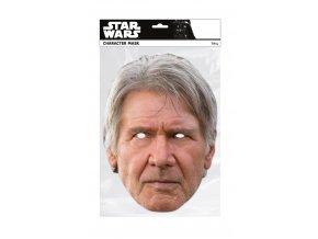 Papierová maska Han Solo (Star Wars)