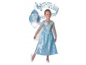 Detský kostým Elza - svieti a hrá